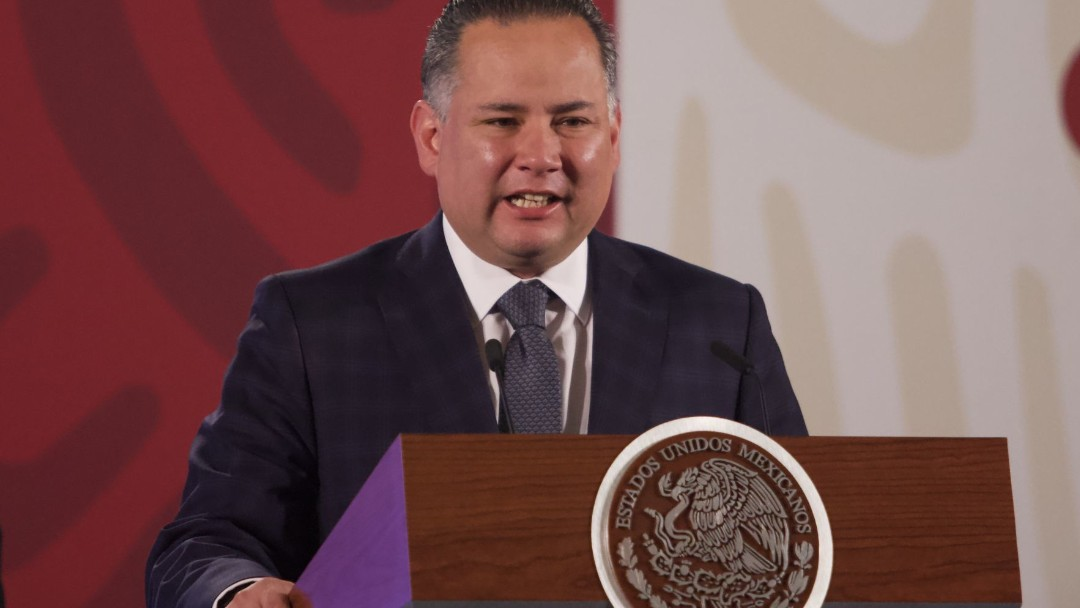 Foto: Santiago Nieto, titular de la Unidad de Inteligencia Financiera (UIF) de Hacienda. Cuartoscuro