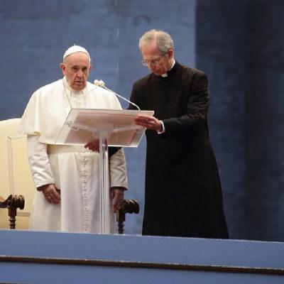 Ante coronavirus 'podemos preparar un tiempo mejor': papa Francisco