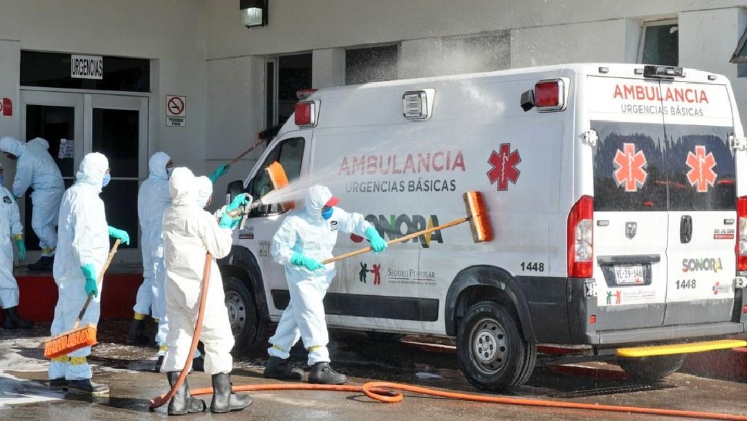 Coronavirus:Hospital San Luis Río Colorado, foco de contagio