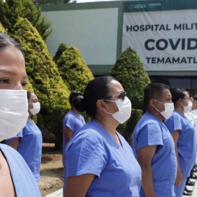 Coronavirus: SAT dona a Sedena equipo médico y telas