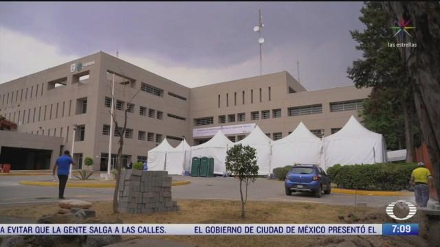 hospitales publicos de la cdmx se preparan para etapa de mas contagios por coronavirus