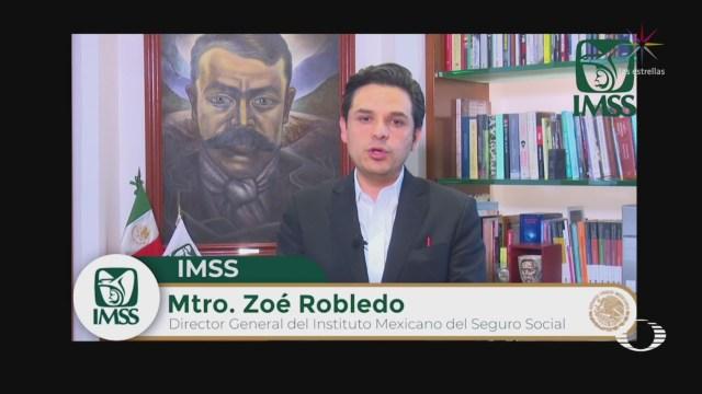 Foto: El director del IMSS, Zoé Robledo, anunció que se está implementando un programa de reconversión hospitalaria en Baja California tras el aumento de la tasa de mortalidad por coronavirus 6 Abril 2020