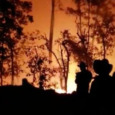 Se disparan incendios forestales en Oaxaca; reportan 10 activos