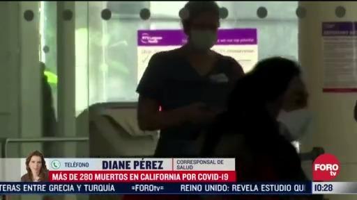 FOTO: 5 de abril 2020, incremento dramatico de pacientes con coronavirus en california