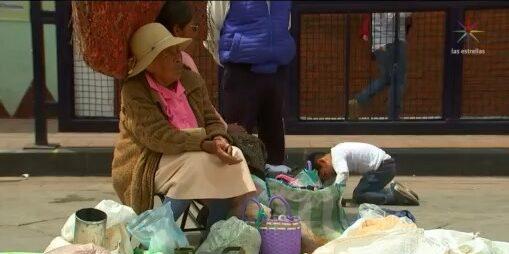 indigenas pierden clientes en tianguis debido a epidemia de coronavirus
