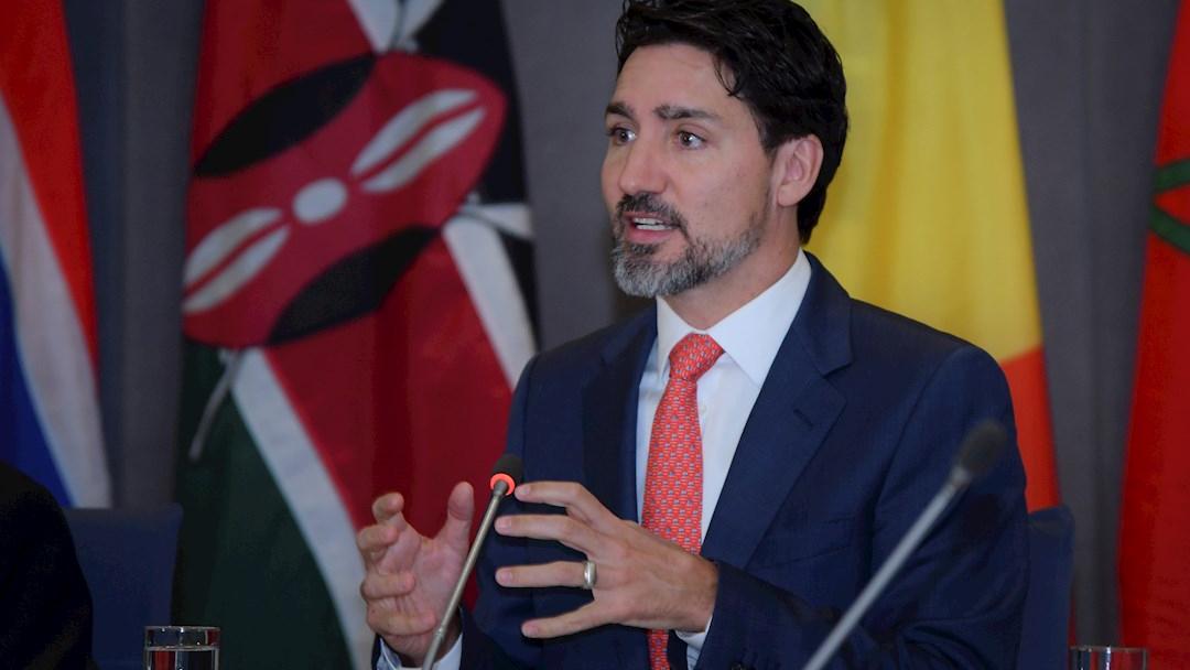Foto: El primer ministro de Canadá, Justin Trudeau, 18 abril 2020