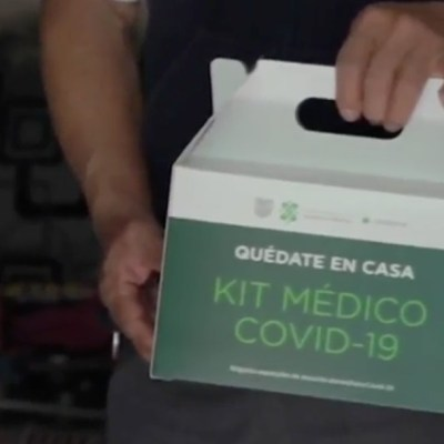Entregan kits de apoyo para casos sospechosos de coronavirus en CDMX