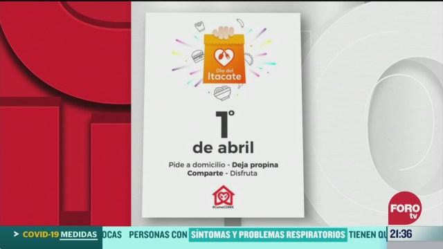 Foto: Coronavirus Lanzan Iniciativa Come Cdmx Activar Economía 1 Abril 2020