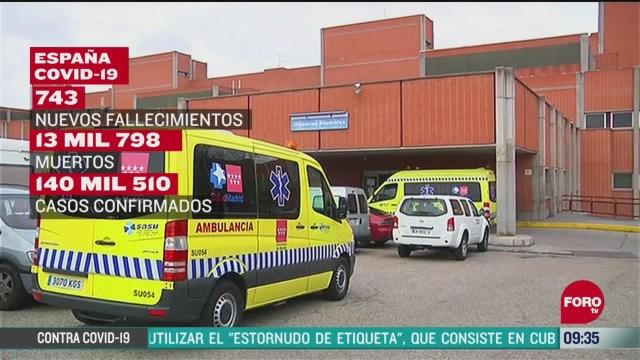 las muertes y nuevos casos por coronavirus aumentan en espana
