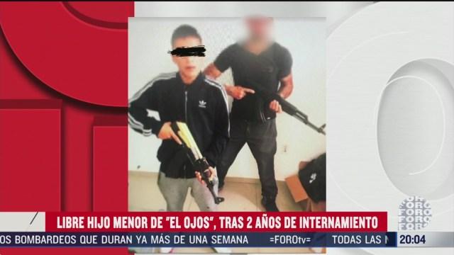 Foto: Liberan Kevín Hijo El Ojos Exlíder Cártel De Tláhuac 1 Abril 2020
