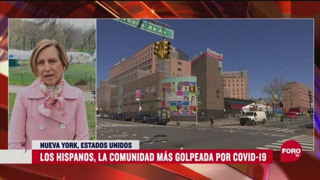 los hispanos la comunidad mas golpeada por coronavirus