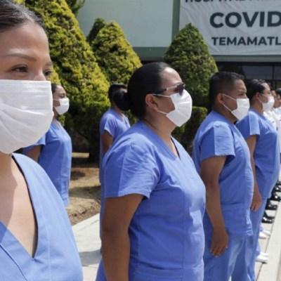 AMLO presenta plan emergente para atender enfermos por coronavirus COVID-19