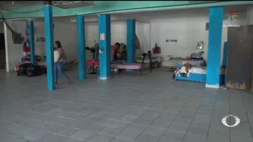 Foto: Migrante Deportado Provoca Brote De Coronavirus En Albergue 24 Abril 2020
