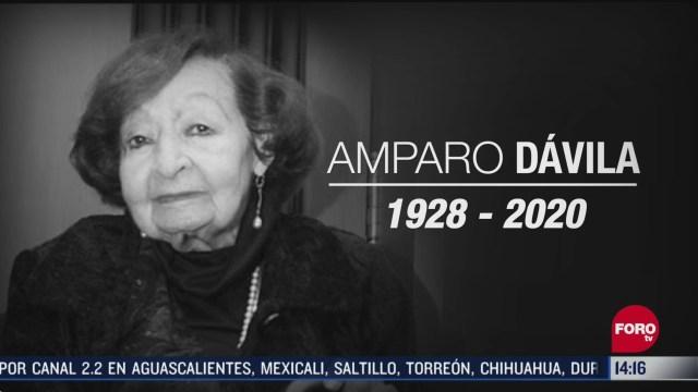 FOTO:18 de abril 2020, muere a los 92 anos la escritora amparo davila