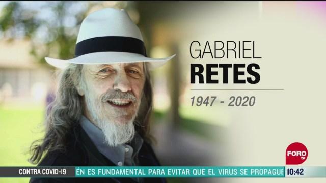 muere el cineasta mexicano gabriel retes
