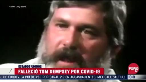 FOTO: 5 de abril 2020, muere el pateador tom dempsey por coronavirus