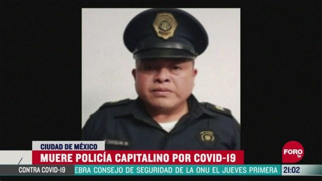 Foto: Coronavirus Muere Policía Ssc Cdmx Covid-19 6 Abril 2020