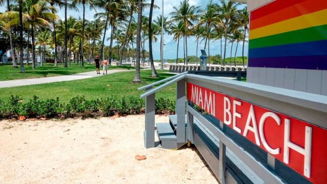 Las playas de Miami Beach seguirán cerradas hasta junio. (Foto: EFE)