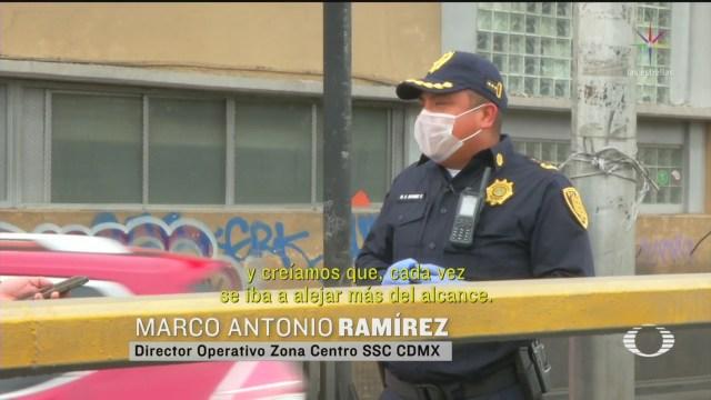 Foto: Policía Que Salvó A Un Joven De Suicidarse Narra Su Historia 7 Abril 2020