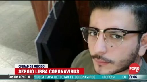 Foto: Joven contagiado de coronavirus su experiencia 2 Abril 2020