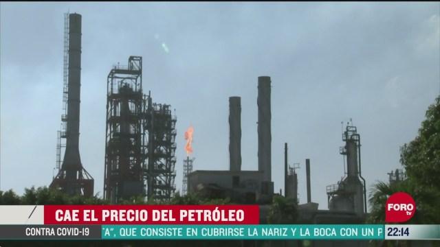 FOTO:19 de abril 2020, precio del petroleo de ee uu cae casi un 20 por ciento