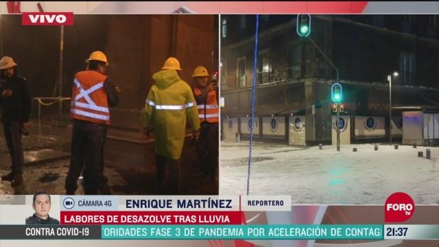 Foto: Video Lluvia Granizada Encharcamientos Cdmx Hoy 21 Abril 2020