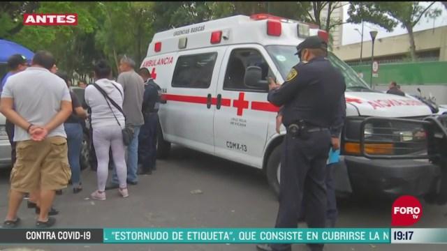 Foto: Reportan una mujer lesionada por arma de fuego en Azcapotzalco 20 Abril 2020