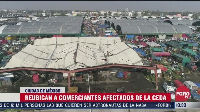FOTO: reubican a comerciantes afectados por granizada en central de abasto de cdmx