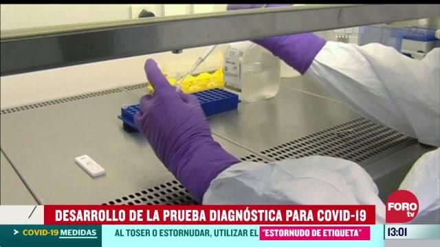 FOTO: sabes como se desarrollo la primera prueba diagnostica para el coronavirus