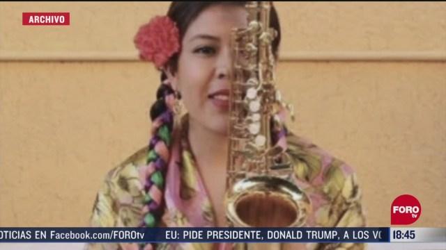 FOTO: saxofonista pide a autoridades no dejar libre a su agresor