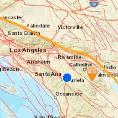 Sismo registrado en California, EE.UU se percibe en Tijuana