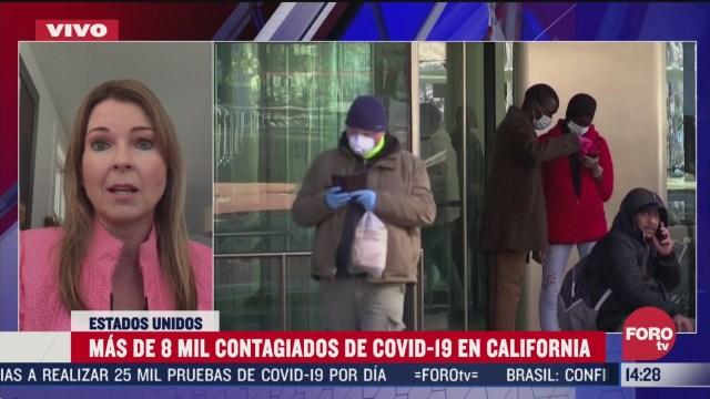 FOTO: suman mas de 8 mil contagiados de coronavirus en california
