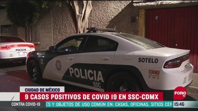 FOTO: suman nueve policias de cdmx con coronavirus