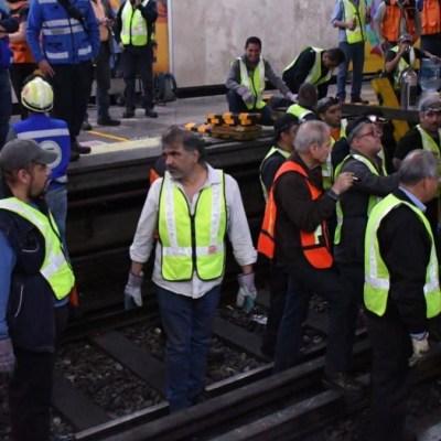 Conductor del Metro rechaza peritaje del choque en Tacubaya
