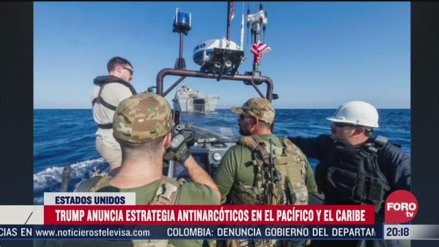 Foto: Trump Duplica Militares Latinoamérica Combatir Tráfico Drogas 1 Abril 2020