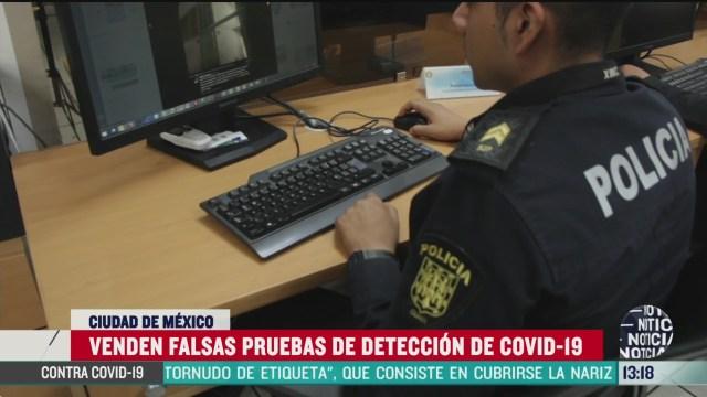 FOTO: venden falsas pruebas de deteccion de coronavirus alertan autoridades