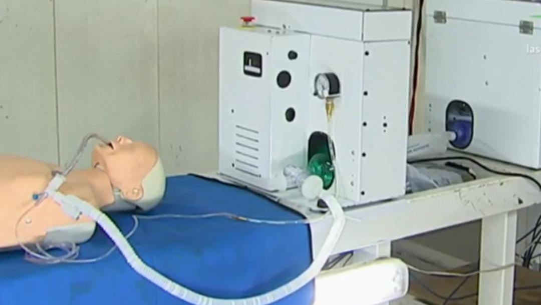 FOTO: Mexicanos crean ventiladores para emergencia por coronavirus, el 29 de abril de 2020