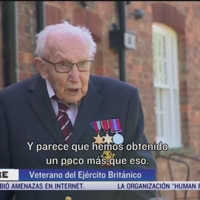 Veterano de guerra lanza iniciativa para ayudar a médicos británicos
