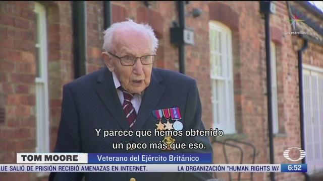 veterano de guerra lanza iniciativa para ayudar a medicos britanicos