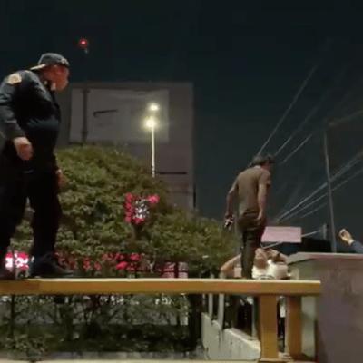 VIDEO: Policía de la CDMX frustra intento de suicidio en alcaldía GAM