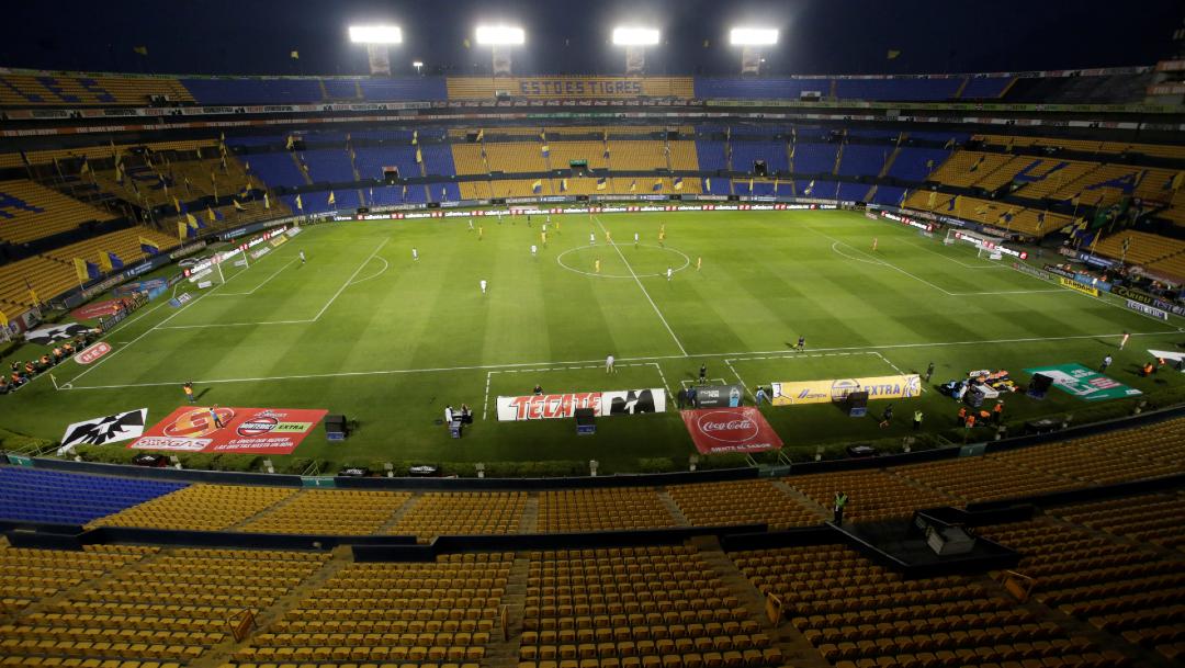 panoramica del estadio universitario de monterrey