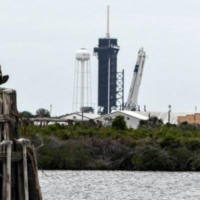 Posponen para el sábado lanzamiento de la NASA y Space X por mal clima
