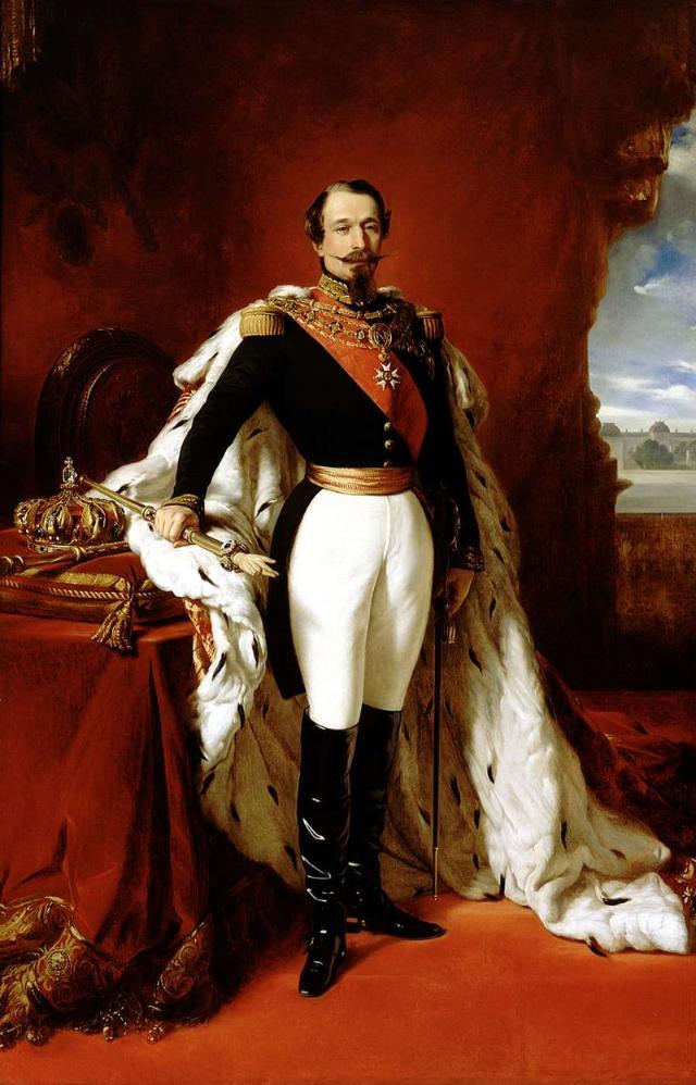 Retrato de Napoleón III