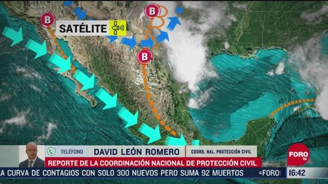FOTO: alertan por posibles lluvias granizadas y tornados en el norte del pais