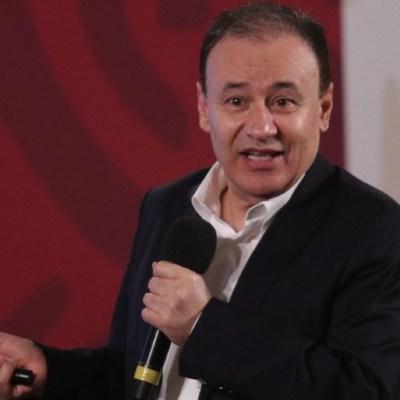 Alfonso Durazo, titular de la Secretaría de Seguridad y Protección Ciudadana, en conferencia de prensa matutina. (Foto: Cuartoscuro)