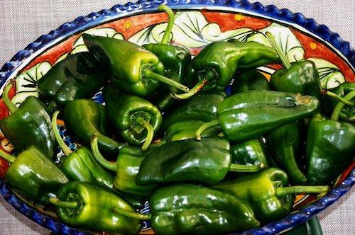 Chiles Poblanos Alimentos Prevenir Gripe Foto