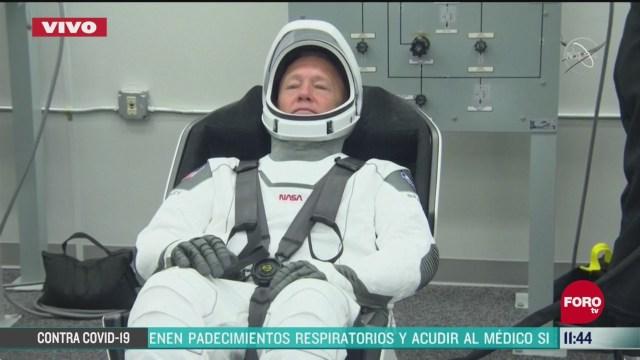 alistan a astronautas que seran enviados por la nasa a la eei