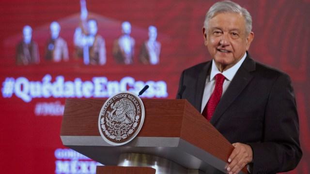 Foto: Andrés Manuel López Obrador, presidente de México, encabezó la conferencia matutina en el Palacio Nacional, 7 mayo 2020