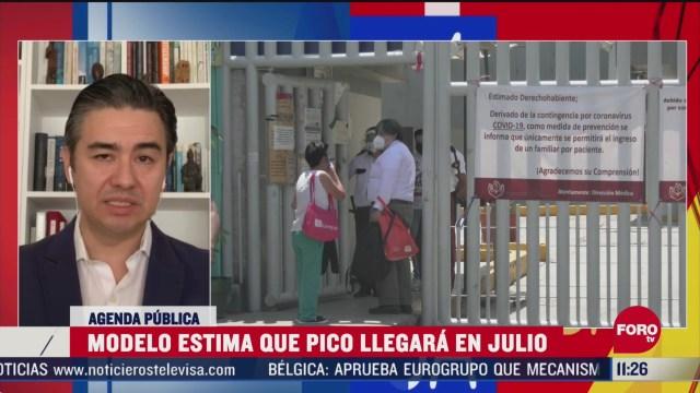 FOTO: 10 de mayo 2020, analisis sobre las cifras de la pandemia de coronavirus en mexico
