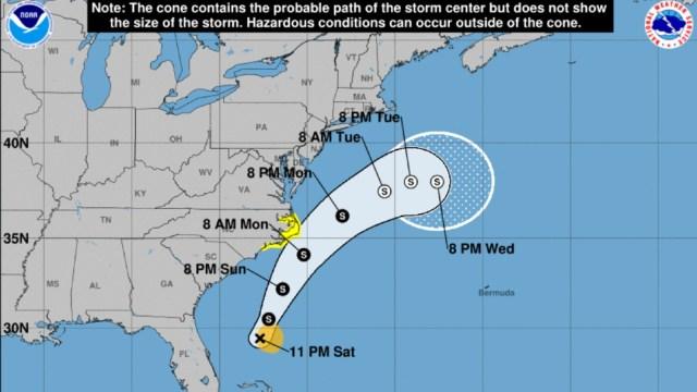 Se forma 'Arthur,' la primera tormenta tropical de la temporada 2020 en el Atlántico